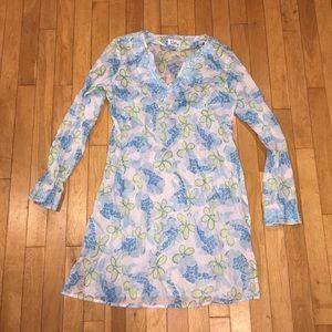 Women's Lilly Pulitzer coverup dress swim